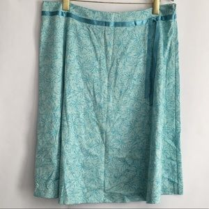 Apostrophe Stretch A-line/Flared Skirt